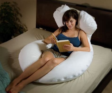 pillow for sitting up in bed various uses