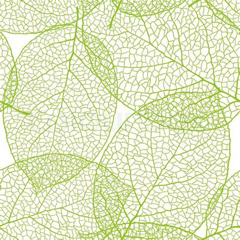 illustrator pattern leaves fresh green leaves background vector illustration