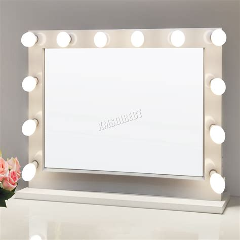 light up cosmetic mirror foxhunter makeup mirror led 12 bulbs light cosmetic