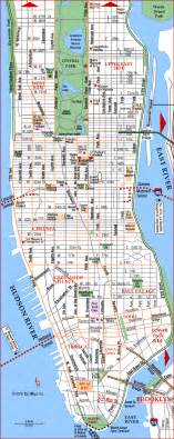 Where Is New York City On A Map by News Tourism World Manhattan Tourist Map On The Road