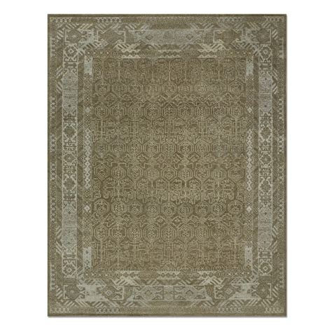 Williams Sonoma Rug by Iridescent Knoted Rug Beige Williams Sonoma