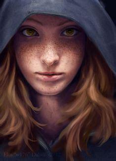 paul spitzyn {figurative art female redhead beautiful