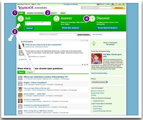Mba Yahoo Answers Site Answers Yahoo by What Is Yahoo Answers For
