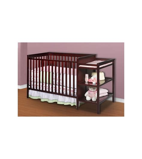N Cribs by Delta Houston Classic Crib N Changer Black Cherry Espresso