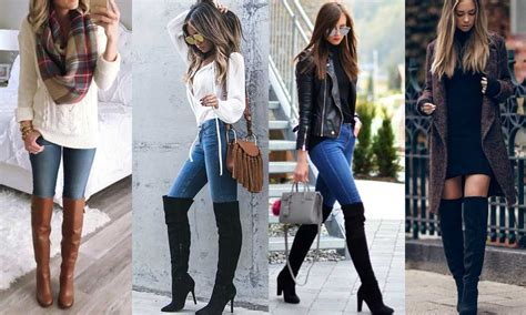 how to wear knee high boots with style code