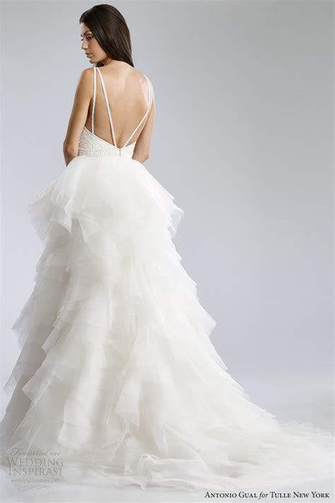antonio gual for tulle york fall 2014 wedding dresses