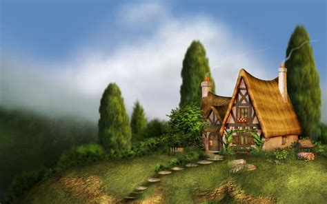 fantasy houses fantasy house wallpaper
