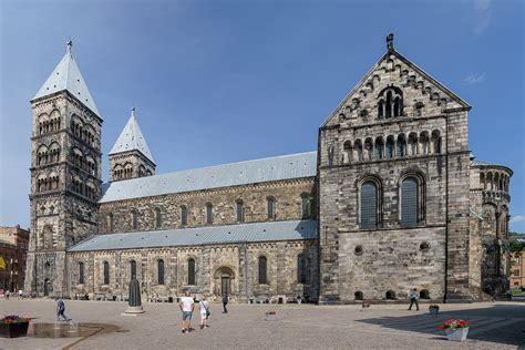 Marvelous When Was The Catholic Church Founded #4: 1200px-Lund_Cathedral_2017-08-17.jpg