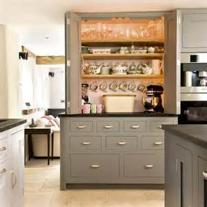 attractive Grey Painted Kitchen Cabinets #1: Grey-painted-kitchen-larder-cupboard-Beautiful-Kitchens-Housetohome.jpg