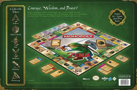 legend of zelda monopoly map legend of zelda monopoly collector s edition geektyrant