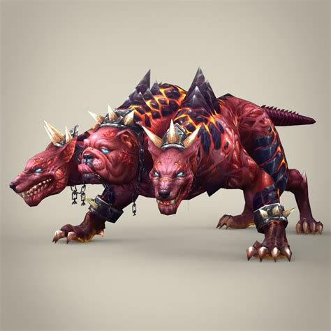 videos monster fantasy monster dog bambusa 3d model