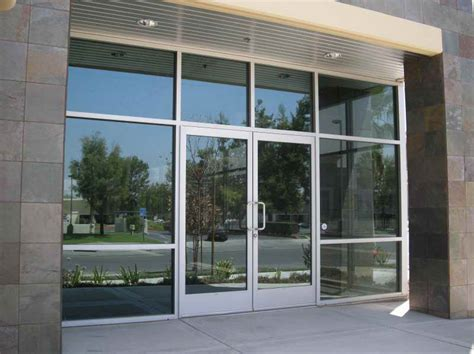 Garage Lighting Design commercial glass entry doors with hotel style the glass