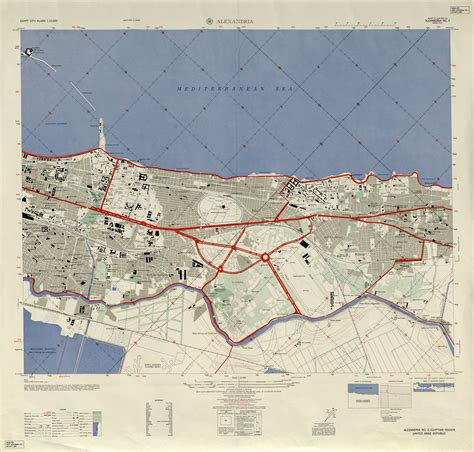 alexandria map maps perry casta 241 eda map collection ut library