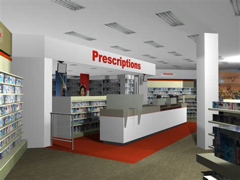 pharmacy interior design ego squared
