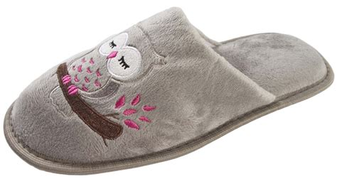 owl slippers womens novelty slippers reindeer owl animal character