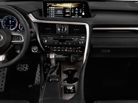 sporty lexus 4 door image 2016 lexus rx 350 awd 4 door f sport instrument