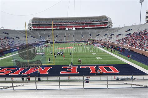 football section seating section 103 vaught hemingway stadium ole miss