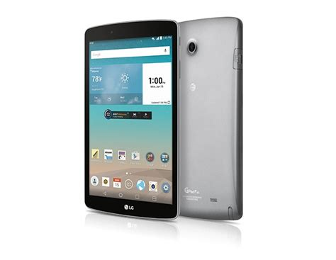 at t android tablet at t announces lg g pad f 8 0 android tablet