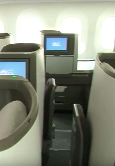 Airways Interior by Best Business Class Seats On Airways Boeing 787 9