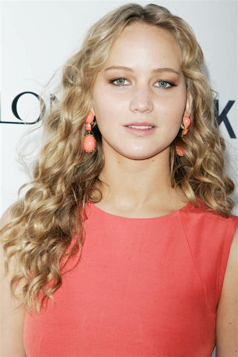 %name jennifer lawrence pinterest   Jennifer Lawrence With Natural Curls   Jennifer Lawrences
