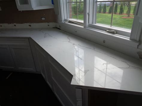 Milwaukee Granite Countertops by Naturaquartz Bianco Calacata Milwaukee Wi Amf Brothers