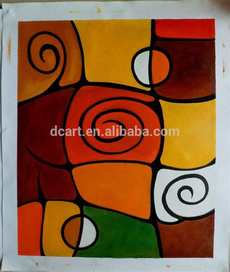 abstract stock painting canvas easy for pictures