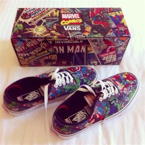 Vans Marvels Comic shoes vans marvel comics sneakers wheretoget