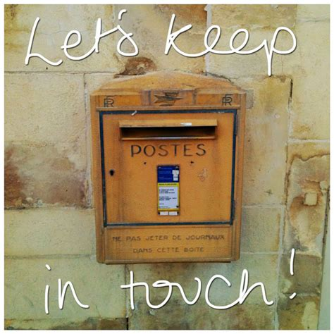 Closing Letter Keep In Touch keep in touch scraps pictures images graphics for
