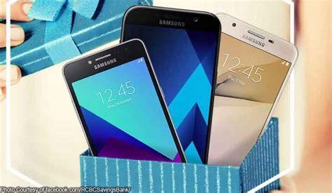 Samsung Phone Giveaway - rcbc savings lures more clients with samsung phone giveaway bilyonaryo