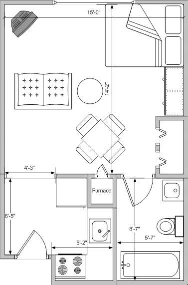 studio plan studio apartment unit floor plan studio apartment plans