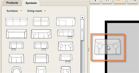 floor plan chair furniture icons for floor plans
