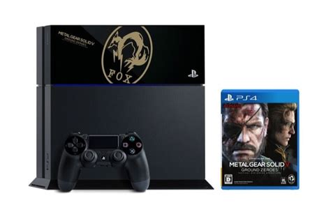 metal gear solid ps4 console metal gear solid v ground zeroes fox edition ps4 console