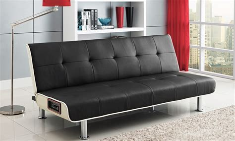 Sleeper Sofa Deals by Dhp Audio Rocker Sofa Sleeper Groupon