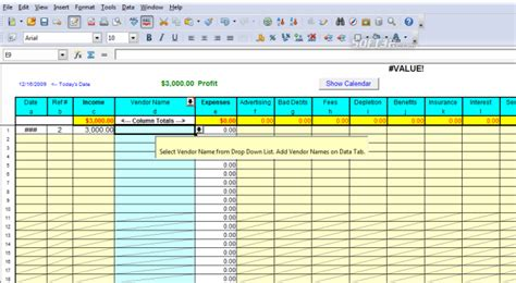 Profit And Loss Spreadsheet by Profit And Loss Worksheet Images