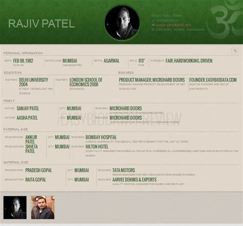 biodata format website biodata for marriage format for man created with www
