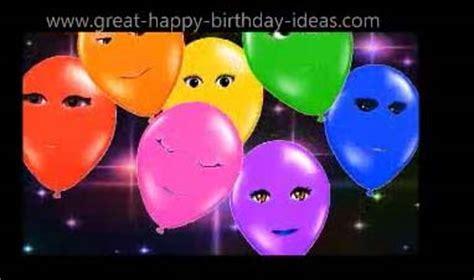 Singing Happy Birthday Balloons. Free Happy Birthday