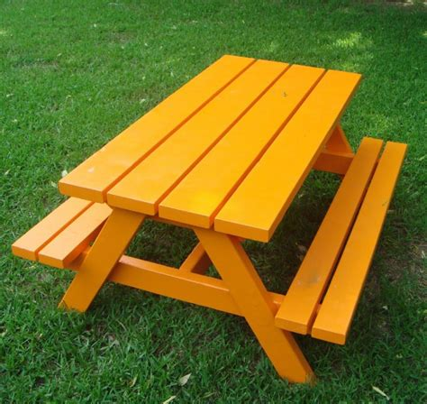 childs picnic bench 20 free picnic table plans enjoy outdoor meals with