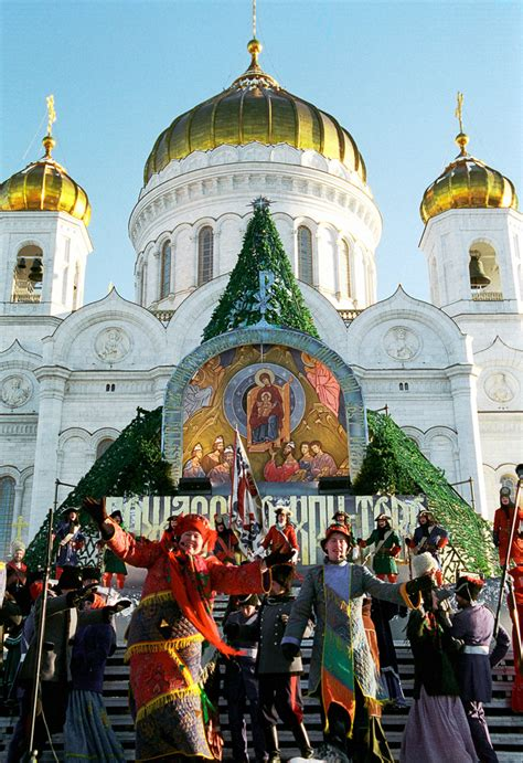 images of christmas in russia in russia