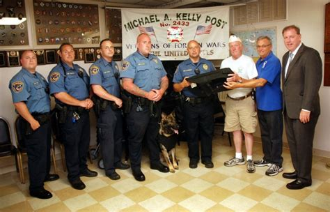 Union County Sheriff S Office by Vfw Post 2433 Donates 5 K9 Ballistic Vests To The Sheriff
