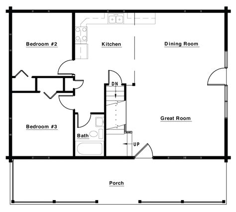 the retreat floor plans the retreat 1 469 ft 178 3 beds 2 baths white log