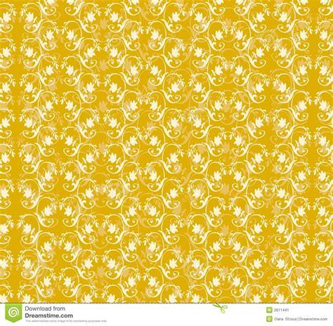 yellow floral pattern yellow floral pattern stock image image 2611441