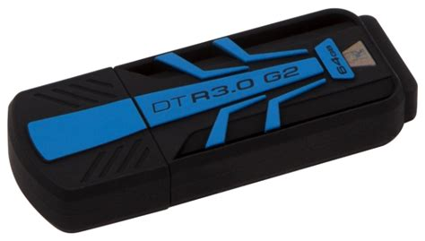 Kingston Datatraveler Usb 30 64gb Dt101g364g Black 1 usb kingston datatraveler hyperx30 128 gb