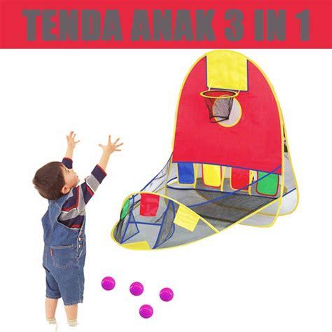 Tenda Anak Di Shopee tenda bermain anak 3 in 1 shopee indonesia