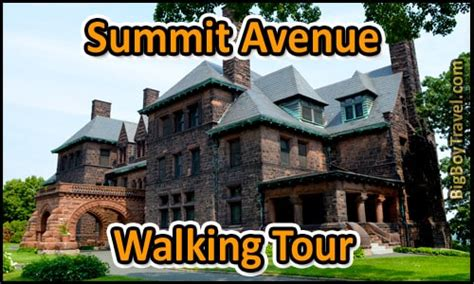 Washburn House Detox by Summit Avenue Walking Tour Map St Paul Mansions Guided