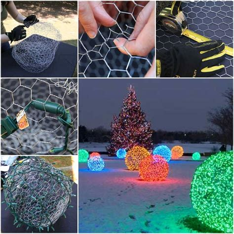 how to make christmas light balls tutorial usefuldiy com