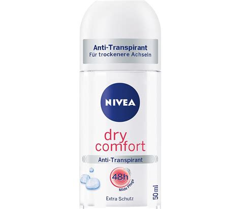 bavarian comfort care nivea dry comfort anti transpirant roll on 48h buy german