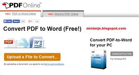 converter pdf ke word gratis mudahnya cara merubah pdf to word secara online