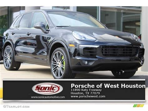 porsche cayenne 2016 colors 2016 jet black metallic porsche cayenne s e hybrid