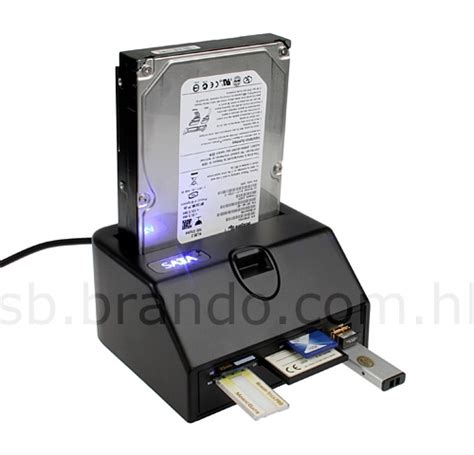 Hardisk Reader Sata Hdd Dock Gets Updated With Usb Ports Card Reader