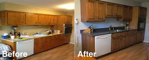 Refacing Kitchen Cabinets Before And After High Resolution Refacing Laminate Cabinets 10 Refacing